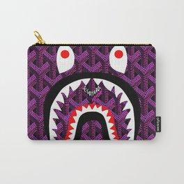 Bape Purple Carry-All Pouch