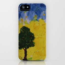 YELLOW SKIES iPhone Case