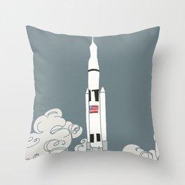 Rocket power! Throw Pillow