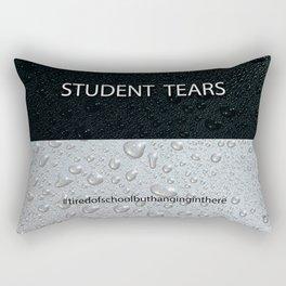 Student Tears Rectangular Pillow