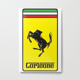 Corleone Metal Print