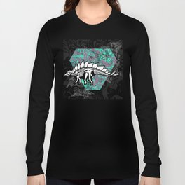 Stegosaur Fossil Long Sleeve T-shirt