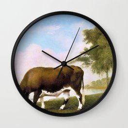 The Lincolnshire Ox - George Stubbs Wall Clock