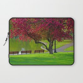 The park  Laptop Sleeve
