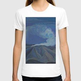 Canadian Landscape Oil Painting Franklin Carmichael Art Nouveau Post-Impression The Nickel Belt 1928 T-shirt