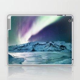 aurora in iceland Laptop & iPad Skin