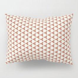 Three red pattern Pillow Sham