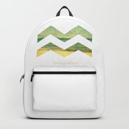 Life's A Beach Backpack