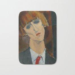 "Amedeo Modigliani ""Madame Kisling""(1917) Bath Mat"