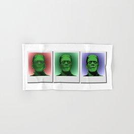 Polaroids of Frankenstein's Monster Hand & Bath Towel