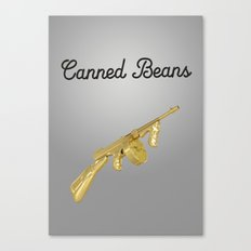 Canned Beans Canvas Print