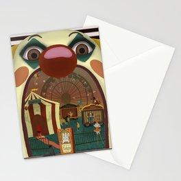 Creepy Circus Stationery Cards