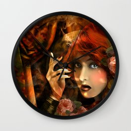 Experiment -Lillian Gish- Wall Clock