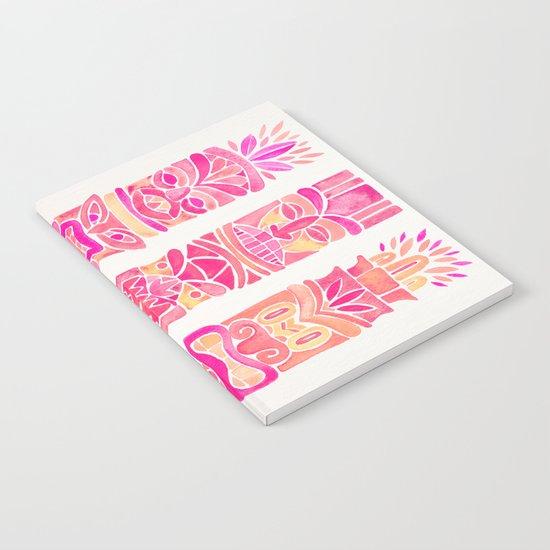 Tiki Totems – Pink Palette Notebook