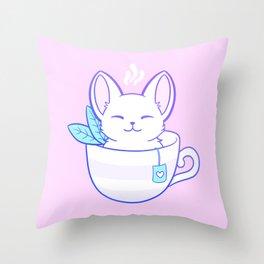 Kittea Throw Pillow