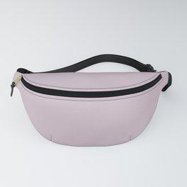 Pastel Pinkish Purple Solid Color Parable to Valspar Subtle Purple 1003-8B Fanny Pack