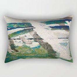 Polar Bear Going Home Rectangular Pillow