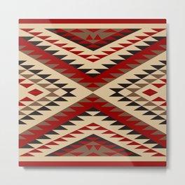 American Native Pattern No. 93 Metal Print