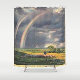 Vintage poster - South Manchuria Railway Shower Curtain