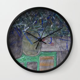 Upward Growth Wall Clock