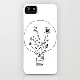Bloom your light iPhone Case