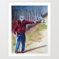 dave matthews Art Prints featuring Dave by David D'Ostilio