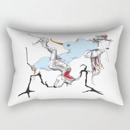 Adam & Eve II Rectangular Pillow