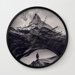 The Great Outdoors Wall Clock