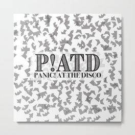 P!ATD Shatter Metal Print