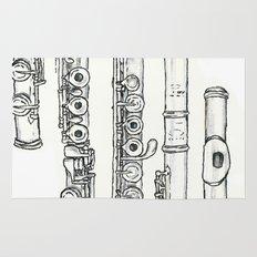 Flöte Rug
