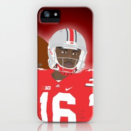 Ohio State Buckeyes - JT Barrett - 2016 iPhone Case