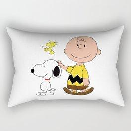 Charlie Brown & Friends Rectangular Pillow