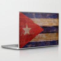 cuba Laptop & iPad Skins featuring Cuba  by Jordygraph