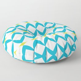 Poolside in Turquoise Floor Pillow
