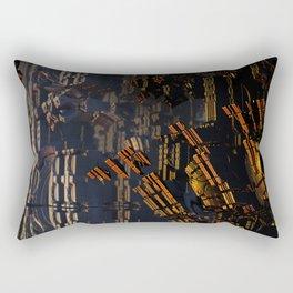 Shattered Fortress Rectangular Pillow
