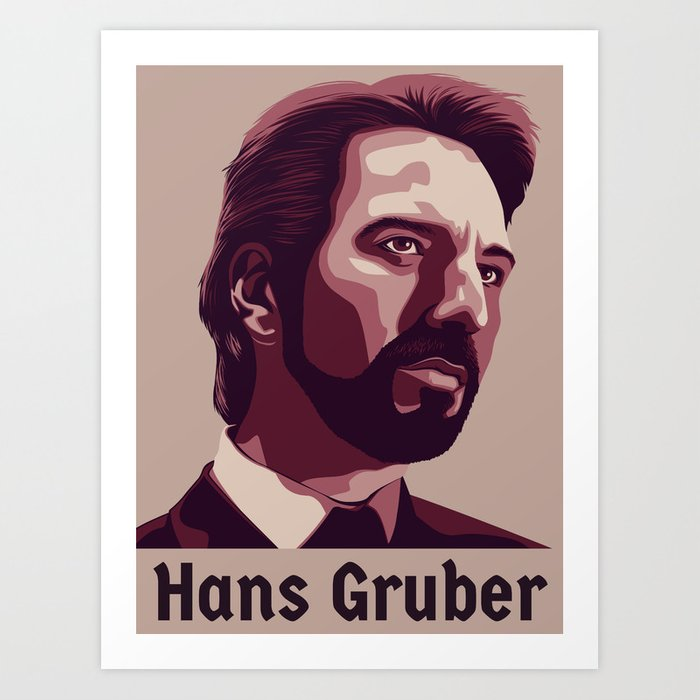 Hans Gruber Art Print