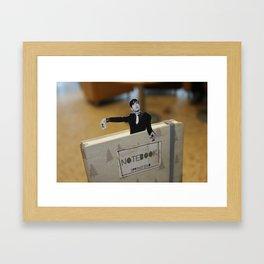 Jarvis (in a moleskin)  Framed Art Print