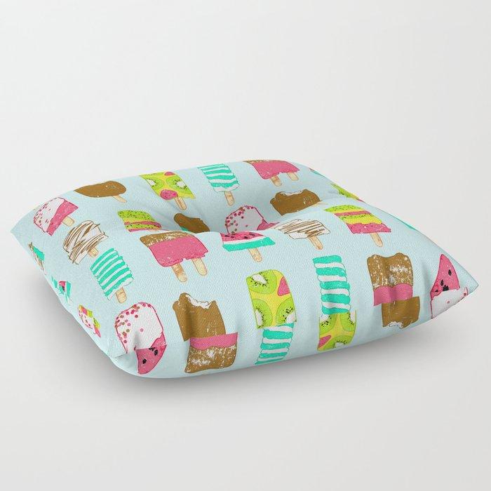 Ice Cream Time Floor Pillow