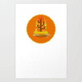 Fall Buddha Art Print