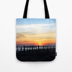 Quiet sunset Tote Bag