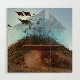 above water Wood Wall Art
