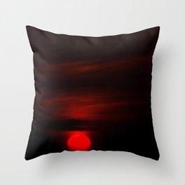 Swabian sunset Throw Pillow