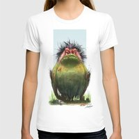 grumpy T-shirts featuring Grumpy by TamaraCampeauIllustration