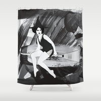 witch Shower Curtains featuring Witch by Inbeeswax
