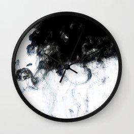 Ink II Wall Clock