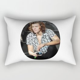 Curls in Charlotte Rectangular Pillow