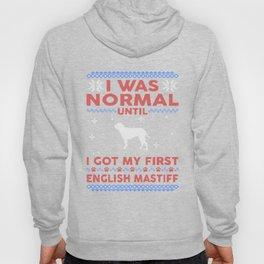 English Mastiff Ugly Christmas Sweaters Hoody