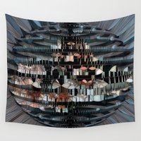 glass Wall Tapestries featuring Glass Star by BeachStudio