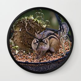 Chippy Cheeks Wall Clock