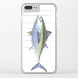 Tuna Fish Clear iPhone Case